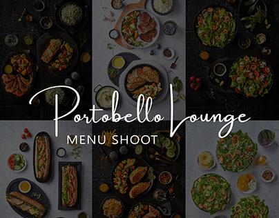 Portobello Lounge Menu
