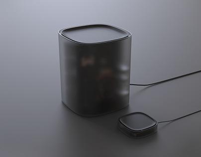 Cube - Computer concept