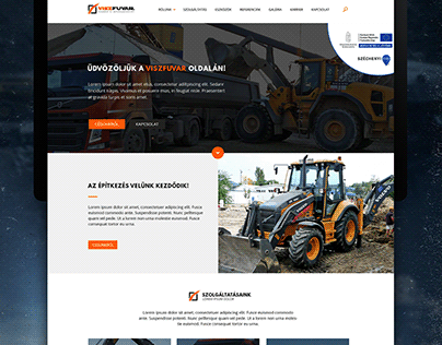 Wordpress website template