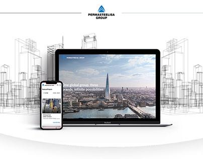 Redesign Permasteelisa Group Website
