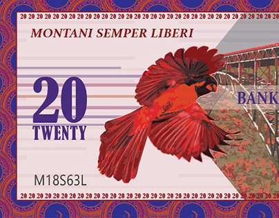 West Virginia Currency Design