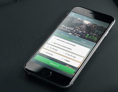 Plane ticket App
