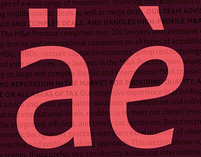 Cuatrecasas Typefaces