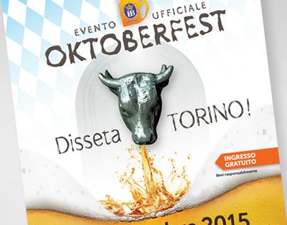 Oktoberfest Torino | Logo Design, Adv, Btl