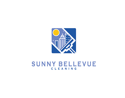 Sunny Bellevue Cleaning Logo