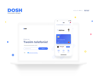 DOSH - Financial App for Teenagers