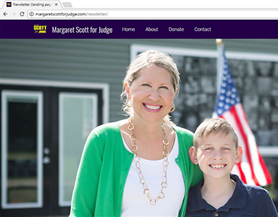 Margaret Scott for Judge Campaign Literature