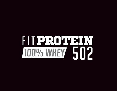 Branding - Diseño de etiquetas / FitProtein502