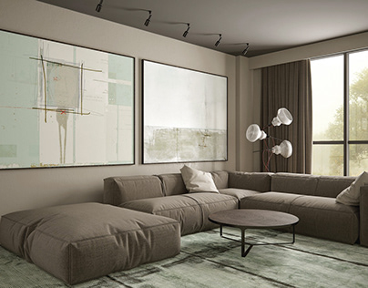 Living room in Dnepr
