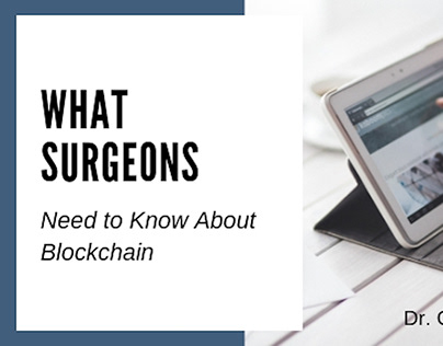 Dr. Christian Hirsch | Surgeons and Blockchain