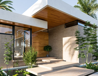 Modern House by High Q Renders