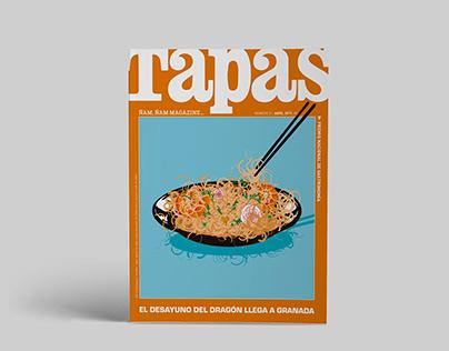 Tapas. Ilustración y diseño editorial