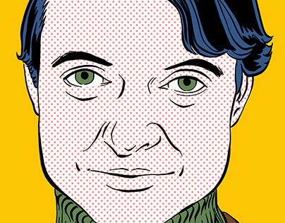 Roy Lichtenstein Portrait