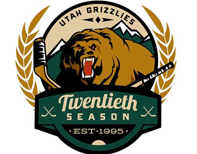 Utah Grizzlies 20 year fanwear jersey