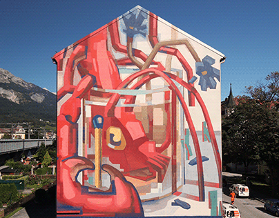 MOTS & HNRX - mural in Innsbruck