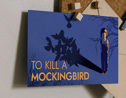 To Kill a Mockingbird | Postcard Design