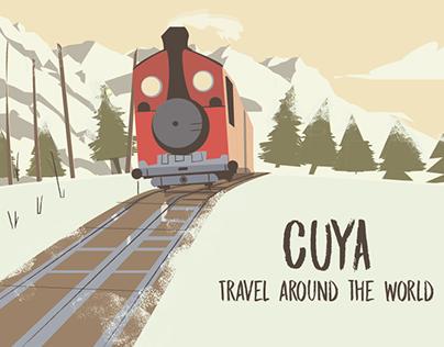 Cuya Travel around the world - Childres Book