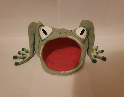 Frog, 3D 1, project 3