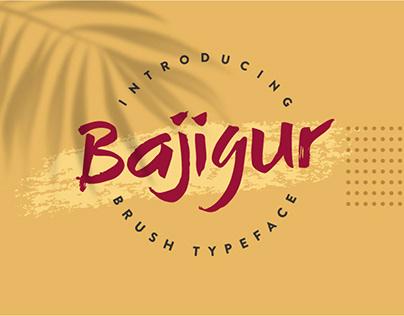 Bajigur Typeface