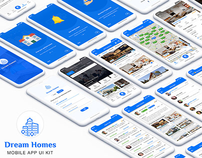Dream Homes : Real Estate App UI Kit