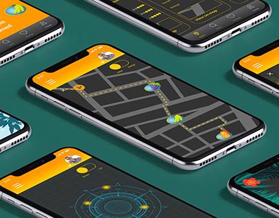 Treasurana - Geocaching App