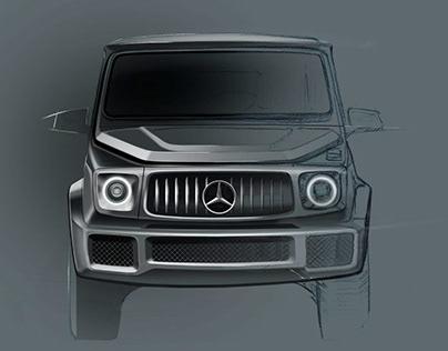 Carsketch project-G Mercedes G-Klasse
