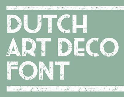 Pinkhoff art deco font