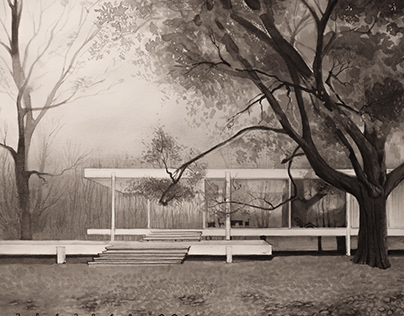 Picture of Farnsworth house