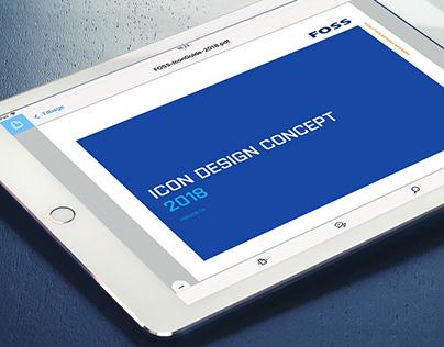 UI Iconography concept – FOSS Analytics