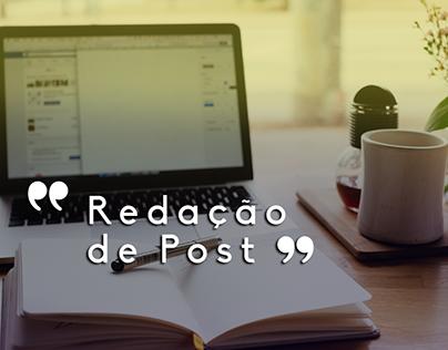 Redação de Post