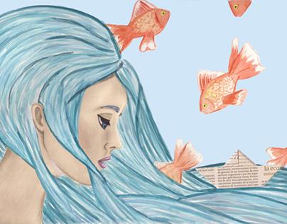 Ilustración Acuarela