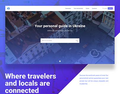 Guide - platform for hiring a guide.