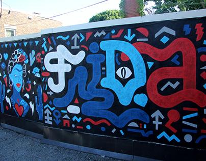 FRIDA Montréal Wall
