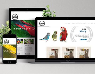 Nature's Nest website design & develpment