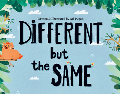 Children's Book: Different But The Same