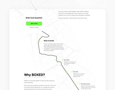 Boxed Web Design