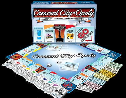 Custom 'Opoly Board Games