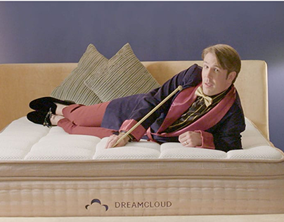 Brand campaign for DTC mattress brand DreamCloud