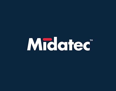 Midatec. Corporate identity.