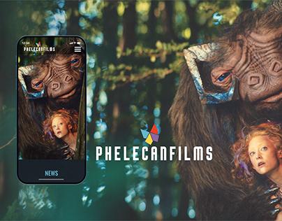 LOGO AND WEB FOR PHELECANFILMS