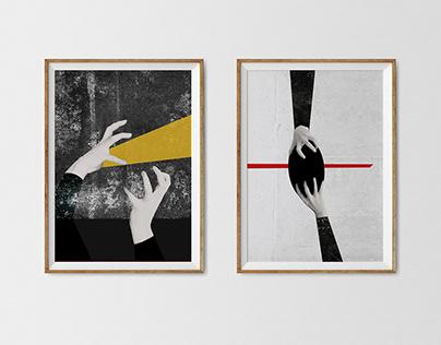 "Posters ""HANDs"""