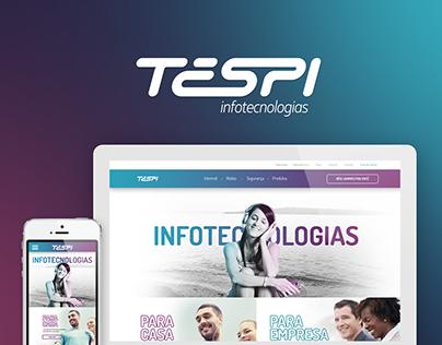 TESPI - Rebranding e Website