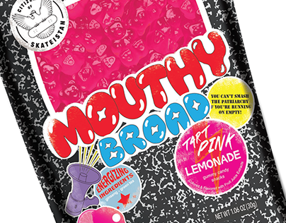 Mouthy Broad Gummy Candy