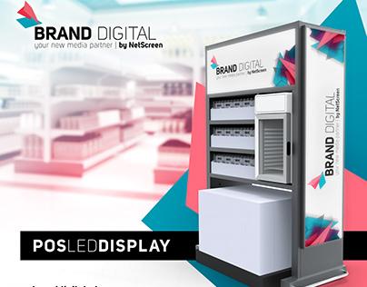 Decoração Stand Brand Digital @Alimentária 17