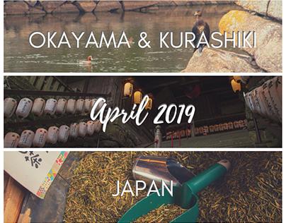 Okayama & Kurashiki, Japan - April 2019