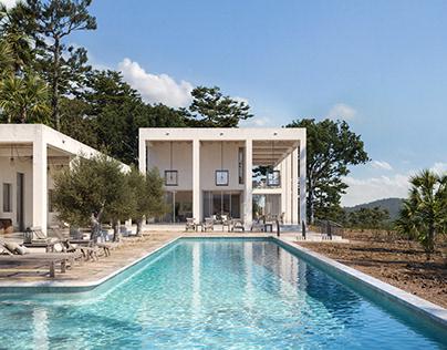 Pool House - CGI