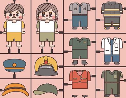 童趣大玩家 HSINCHU BABYCITY ▎主視覺及周邊設計