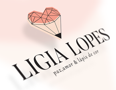 Identidade visual e Blog Ligia Lopes