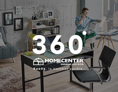 Homecenter 360º