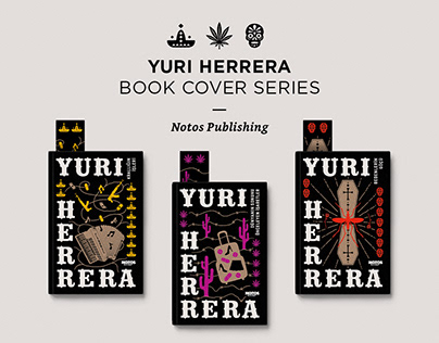 Yuri Herrera - Book Cover Series